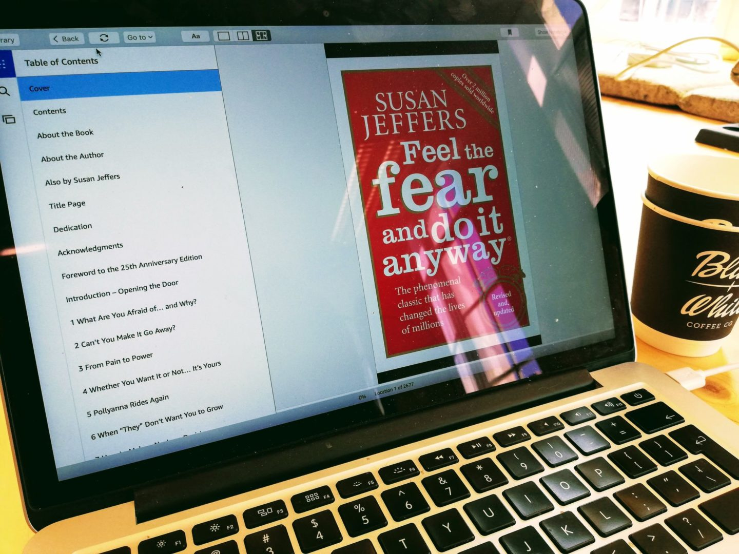 Susan Jeffers. Feel the Fear and Do it Anyway. Three steps to deal with fear